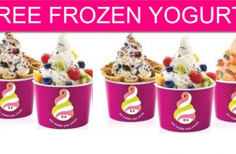FREE Frozen Yogurt! One day ONLY!
