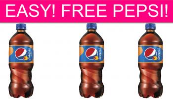 EASY! FREE Pepsi!