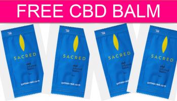 FREE CBD BALM by Mail!