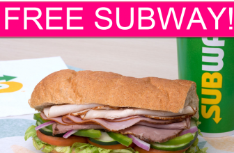TOTALLY FREE Subway Sandwich!