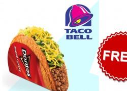 100% FREE Doritos Locos Taco From TACO BELL!