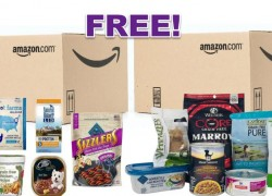 FREE TWO Dog Food & treats Sample Boxes ( After Credit )