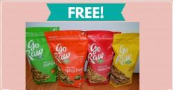 FULL Size FREE Go Raw Snacks ! [ $43.00 Value! ]
