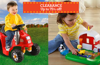 Sale Of The Year! Fisher Price 75% Off Clearance Sale!