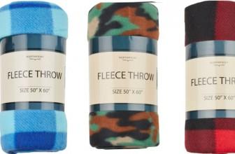 HOT GIFT IDEA! Fleece Throws ONLY $2.49 + FREE SHIP!