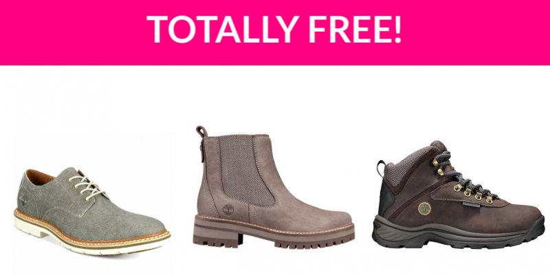 Free Timberland Shoes!