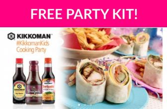 Free Kikkoman Kids Party Kit!