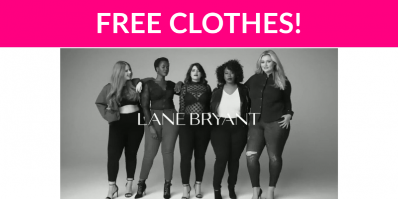 Free Clothes from Lane Bryant!