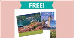 Free 2019 Tauck Calendar By Mail  !