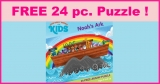 Free 24 Piece Puzzle By Mail !