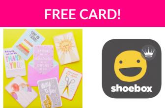 Free Hallmark Card!