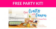 Free Get Crafty with Canon Party Kit!