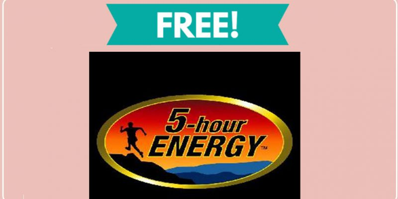 Free 5 Hour Energy Sticker by Mail!