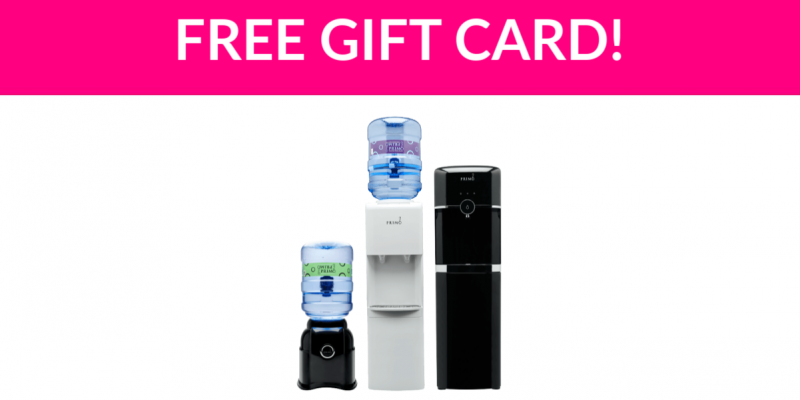 Free $5 Glacier Water Gift Card!
