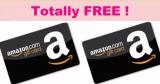 100% FREE Amazon Gift Card { $4.00 ! }