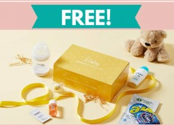 Totally FREE Baby Welcome Box!