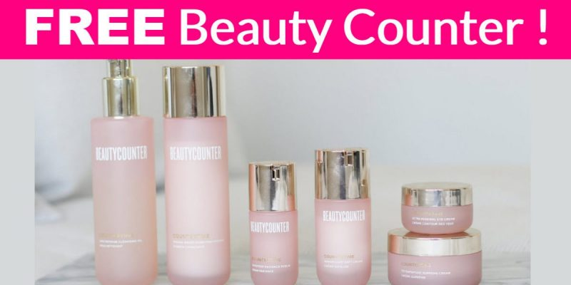 Possible FREE Beauty Counter  Rripeptide Radiance Serum!