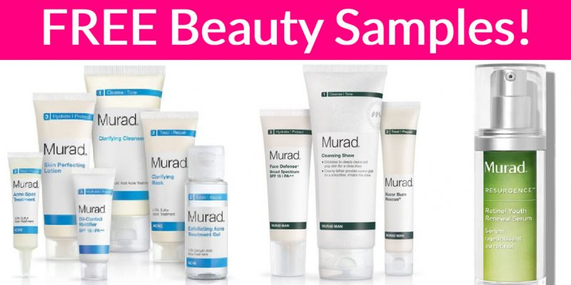 Possible FREE Murad Skin Care!