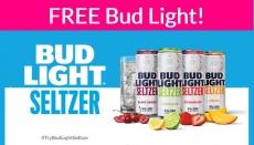 Possible FREE Bud Light Seltzer!