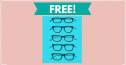 Free Cardboard Glasses By Mail !