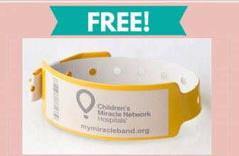 Free Children's Miracle Network Band By Mail !
