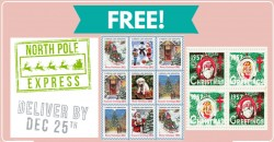 Free Christmas Easter Seals !