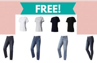 Go – Go – Go ! GET A FREE SHIRT AND FREE JEANS!