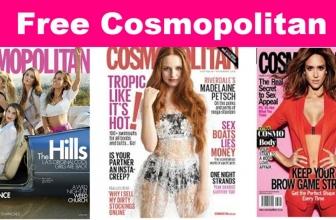 Totally Free Subscription to Cosmopolitan Magazine!