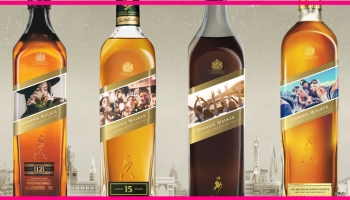 Totally Free Customized Johnnie Walker Label Stickers!