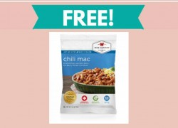 Free Emergency Food Sample by Mail