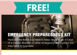 Free Emergency Preparedness Kit Magnet By Mail
