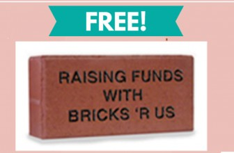 Free Sample of An Engraved Brick By Mail!