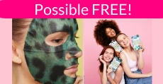 TOTALLY FREE = 3 Face Mask + 1 Foot Mask + 1 Moisturizer!