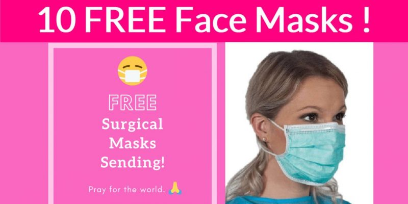 10 FREE Face Masks!