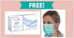 Free Sample of Gloves And FACE MASK!