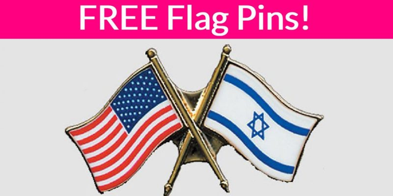 SUPER EASY! Free Flag Pin!