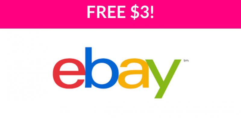 Free $3 on eBay!