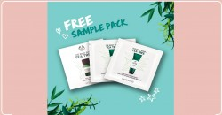 Free Green Tea Sample Pack = from The Body Shop