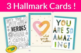 Friday ONLY! Free Hallmark Card! Easy.