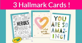 Friday ONLY! Free Hallmark Card! Easy.