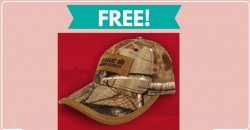 Get a TOTALLY Free Baseball Hat by mail [ $15 Value! ]