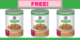 Free Hill's Nutrition Dog Food Sample
