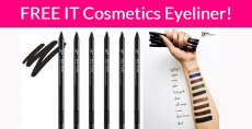 Totally Free IT Cosmetics Eyeliner!