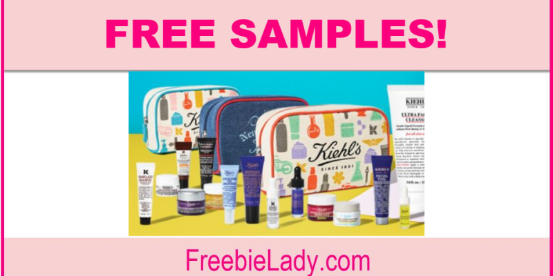 Free Kiehl's Skincare Samples by Mail !