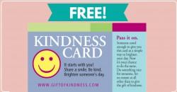 Free Kindness Card! { So Sweet! } 💓