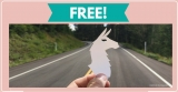 FREE Llama Sticker = HOW FUN!