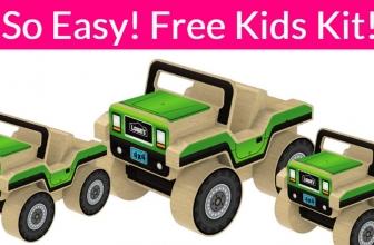 Totally FREE 4X4 Car Kit For Kids.