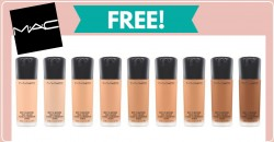 Free Mac Makeup -10 day Supply Of Foundation !