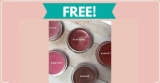 Free Mineral Makeup Samples by Mail