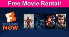 FREE FandangoNOW Movie Rental!